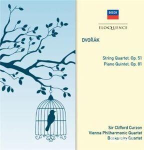 CD Quartetto per Archi, op.51; pi di Antonin Dvorak