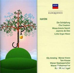 Foto Cover di Creation; Little Organ, CD di Franz Joseph Haydn, prodotto da Eloquence