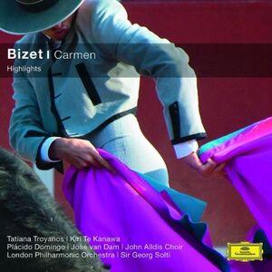 Foto Cover di Carmen, CD di Georges Bizet, prodotto da Decca