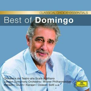 Foto Cover di Best of Domingo, CD di Placido Domingo, prodotto da Deutsche Grammophon