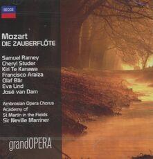 CD Il flauto magico Wolfgang Amadeus Mozart Kiri Te Kanawa Neville Marriner