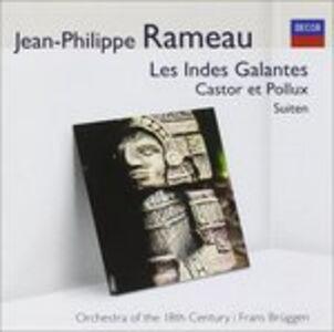 Foto Cover di Les Indes, CD di Jean-Philippe Rameau, prodotto da Audior