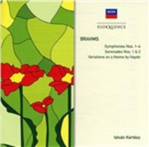CD Symphonies n.1 - 4; di Johannes Brahms 0