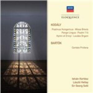 CD Musica sacra Zoltan Kodaly , Bela Bartok