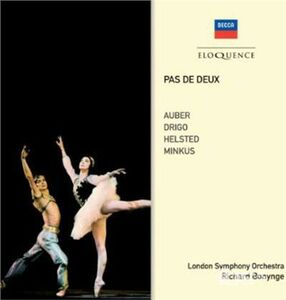 Foto Cover di Pas De Deux, CD di Richard Bonynge, prodotto da Eloquence