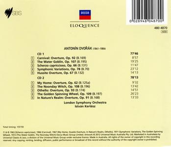CD Overtures & Tone Poems di Antonin Dvorak 1