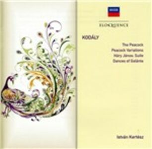 CD Orchestral Works di Zoltan Kodaly