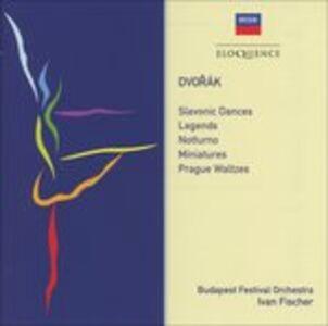 CD Slavonic Dances di Antonin Dvorak