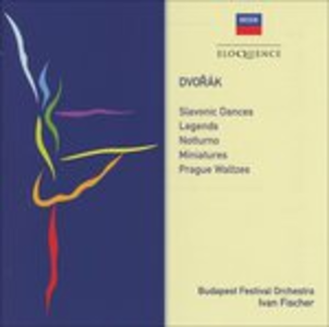 CD Slavonic Dances di Antonin Dvorak