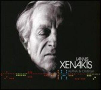 CD Alpha & Omega di Iannis Xenakis
