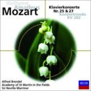 Foto Cover di Concerti per Pianoforte N.25, N.27, CD di Wolfgang Amadeus Mozart, prodotto da Decca
