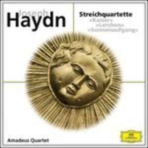 Foto Cover di Quartetti per Archi 3, 4, 5, CD di Franz Joseph Haydn, prodotto da Deutsche Grammophon