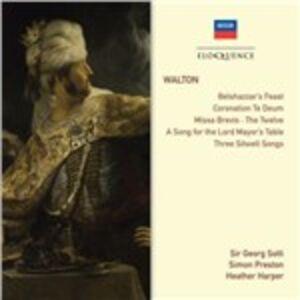 CD Belshazzars Feast - Coronation Te Deum - Choral Works - Songs di William Walton