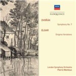 Foto Cover di Sinfonia n.7 / Variazioni Enigma, CD di AA.VV prodotto da Eloquence