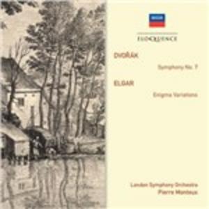 CD Sinfonia n.7 / Variazioni Enigma Antonin Dvorak , Edward Elgar