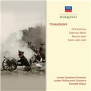 CD Ouverture 1812 - Capriccio italiano - Il lago dei cigni suite - Marcia slava di Pyotr Il'yich Tchaikovsky