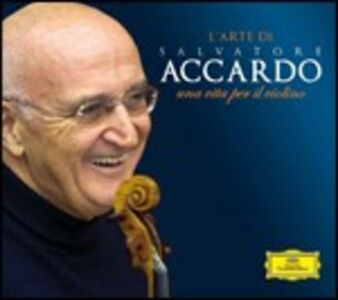 CD The Art of Salvatore Accardo. Una vita per il violino