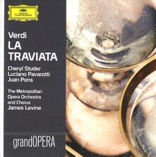 La Traviata - CD Audio di Luciano Pavarotti,Cheryl Studer,Giuseppe Verdi,James Levine,Metropolitan Orchestra
