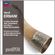 CD Ernani Luciano Pavarotti Giuseppe Verdi Joan Sutherland