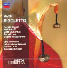 CD Rigoletto Giuseppe Verdi Edita Gruberova Giuseppe Sinopoli