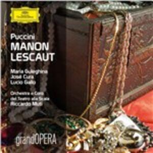 Foto Cover di Manon Lescaut, CD di AA.VV prodotto da Deutsche Grammophon