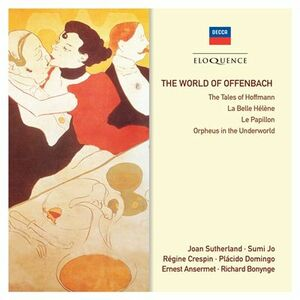 CD World of di Jacques Offenbach