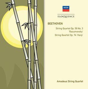 CD Quartetti per Archi op.59 - 3 di Ludwig van Beethoven