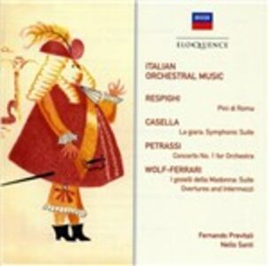 CD Italian Orchestral Music  0