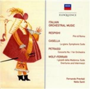CD Italian Orchestral Music  0