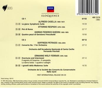 CD Italian Orchestral Music  1