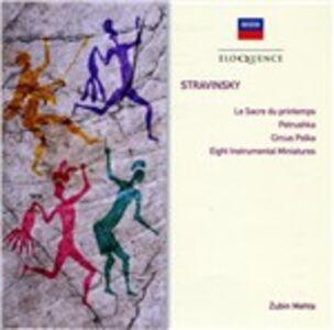 CD Petrushka - Rite of Spring - 8 Instrumental Miniatures - Circus Polka di Igor Stravinsky 0