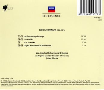 CD Petrushka - Rite of Spring - 8 Instrumental Miniatures - Circus Polka di Igor Stravinsky 1