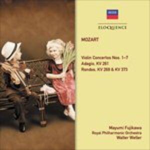 CD Concerti per Violino 1 - 7 di Wolfgang Amadeus Mozart