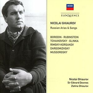 Foto Cover di Russian Songs & Arias, CD di Nicolai Ghiaurov, prodotto da Eloquence