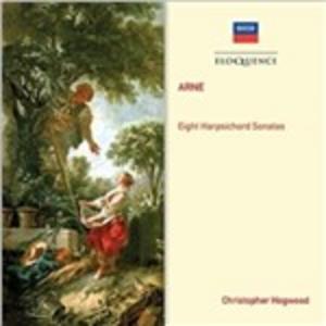 CD Arne. Eight Harpsichord