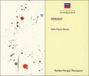 CD Solo Piano Music di Claude Debussy