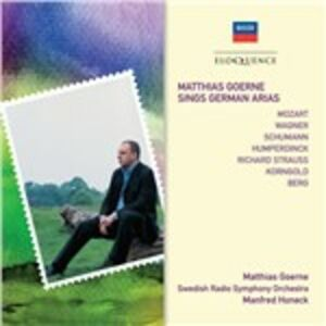 CD Matthias Goerne Sings German Arias  0