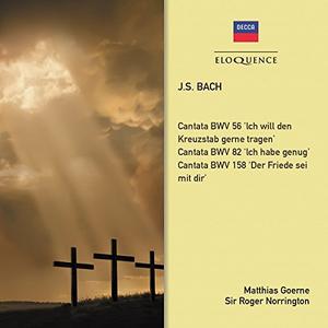 CD Cantatas 56-82-158 di Johann Sebastian Bach