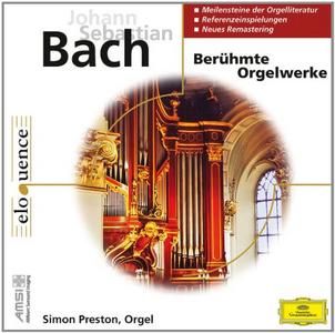 CD Beruhmte Orgelwerke di Johann Sebastian Bach