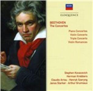 Foto Cover di I concerti, CD di Ludwig van Beethoven, prodotto da Eloquence 0