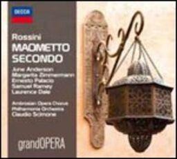 CD Maometto II Gioachino Rossini Claudio Scimone Philharmonia Orchestra