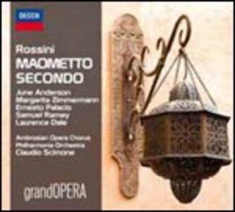 CD Maometto II di Gioachino Rossini