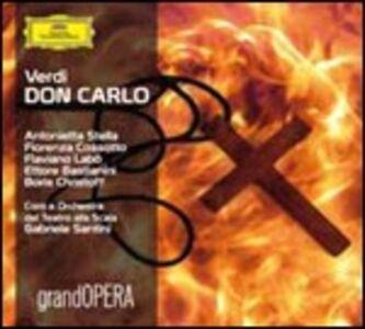CD Don Carlo di Giuseppe Verdi