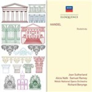 Foto Cover di Rodelinda, CD di Georg Friedrich Händel, prodotto da Eloquence 0