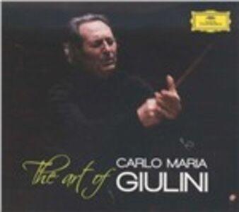 Foto Cover di The Art of Carlo Maria Giulini, CD di Carlo Maria Giulini, prodotto da Deutsche Grammophon