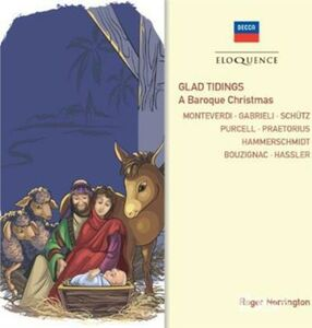 Foto Cover di Glad Tidings. a Baroque, CD di Roger Norrington, prodotto da Eloquence