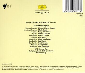 CD Le nozze di Figaro di Wolfgang Amadeus Mozart 1
