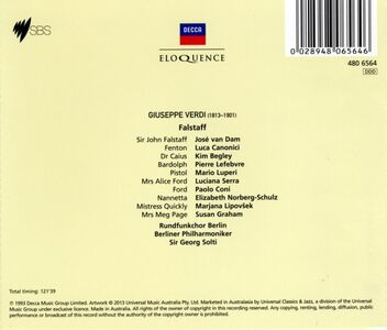 CD Falstaff di Giuseppe Verdi 1