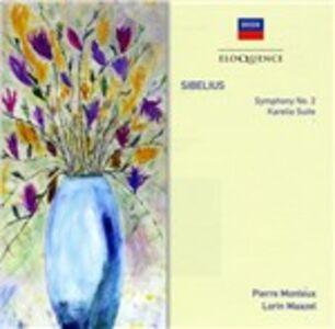 CD Sinfonia n.2 - Suite Karelia di Jean Sibelius
