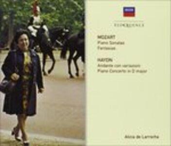 Foto Cover di Sonate per Pianoforte, CD di Wolfgang Amadeus Mozart, prodotto da Eloquence
